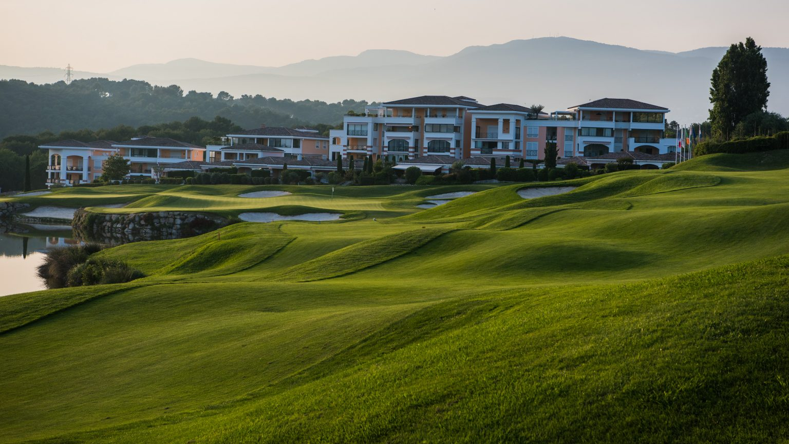 Hole 18, Royal Mougins Golf Club, Cannes, France