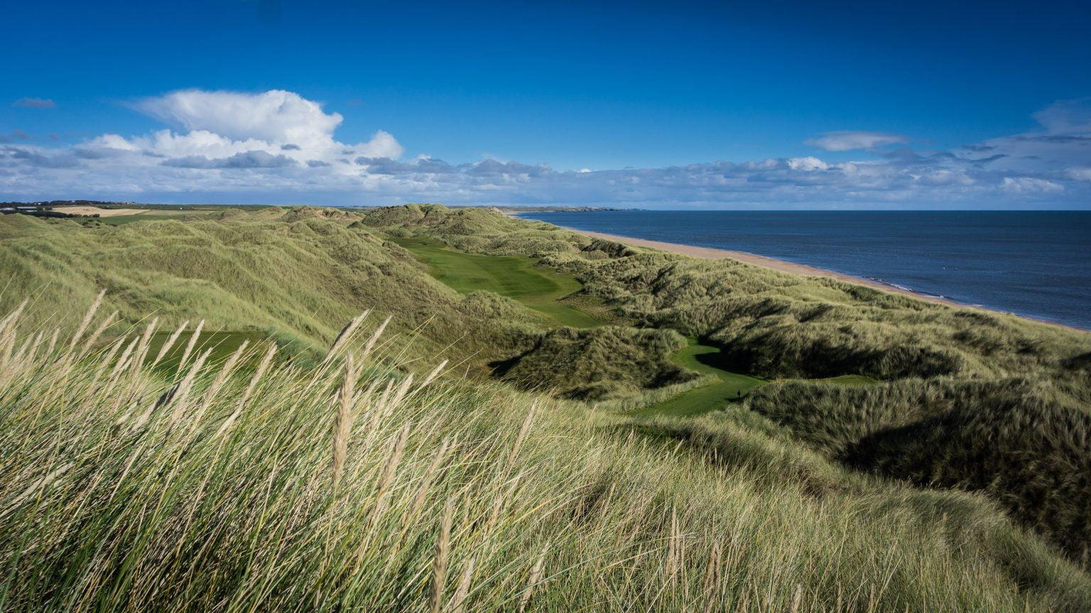 Trump International Golf Links outside Aberdeen
