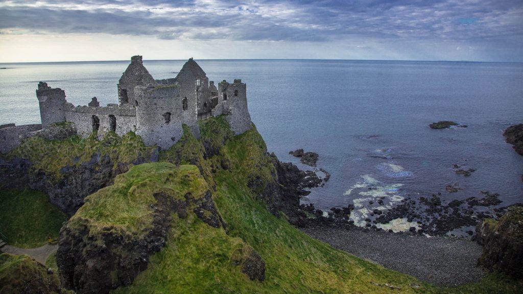 Dunluce Castle, Causeway Coast, Northern Ireland