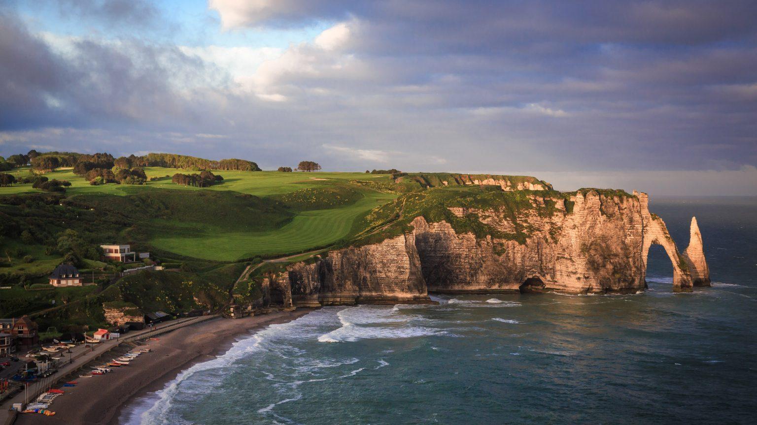 Golf d'Etretat, Normandy, France